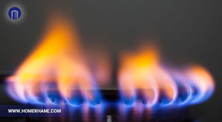 علت زرد سوختن شعله اجاق گاز