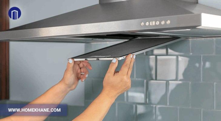 وجود نم در هود آشپزخانه و روش تعمیر آن
