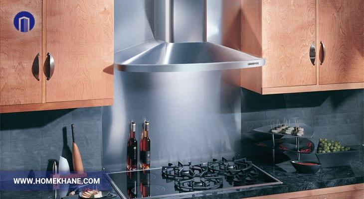 اشکالات رایج هود آشپزخانه و رفع آن