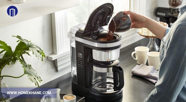 داغ نماندن قهوه در قهوه ساز و تعمیر آن