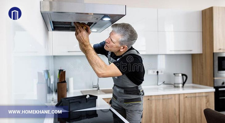 عوامل خرابی هود آشپزخانه