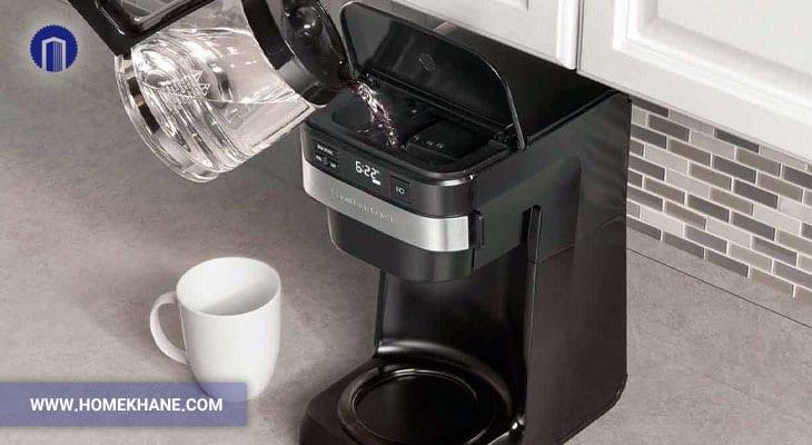 گرم نکردن آب در قهوه ساز و عیب یابی آن