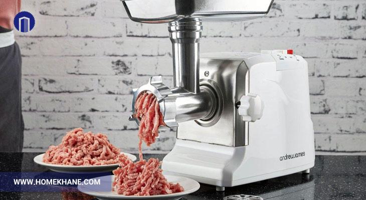 طریقه تیز کردن تیغه چرخ گوشت
