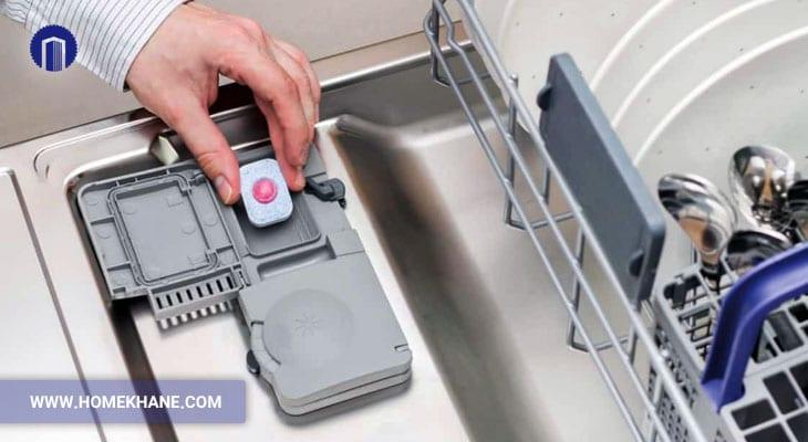 علت باز نشدن قرص ماشین ظرفشویی