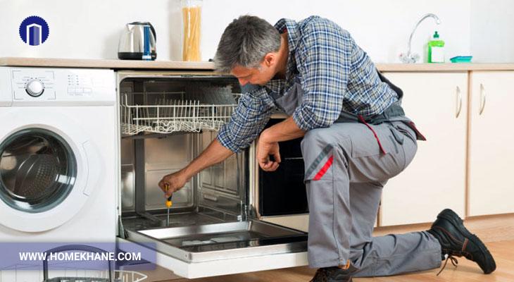 علت خاموش شدن ناگهانی ماشین ظرفشویی