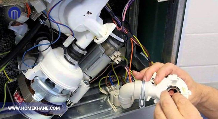 علت خراب شدن پمپ ماشین ظرفشویی