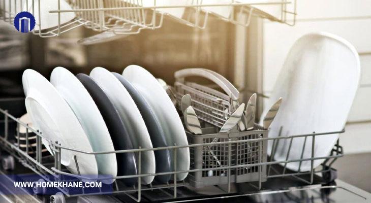 علت خشک نشدن ظروف در ماشین ظرفشویی