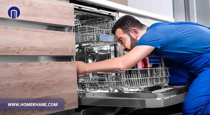 علت سر و صدای زیاد ماشین ظرفشویی