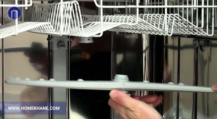 نحوه تعویض بازوی اسپری ماشین ظرفشویی