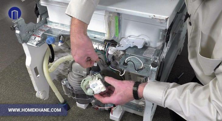 نحوه تعویض فیوز حرارتی ماشین ظرفشویی
