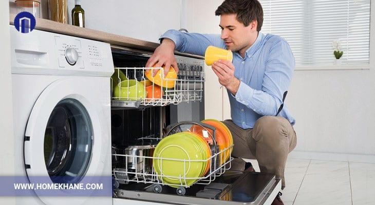 طریقه شستشوی ظروف در ماشین ظرفشویی