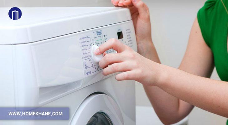 علت ثابت ماندن تایمر ماشین لباسشویی