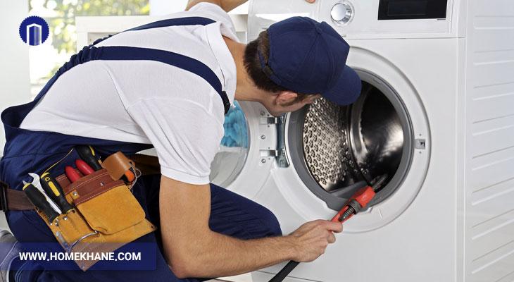 علت گرم نشدن آب در ماشین لباسشویی