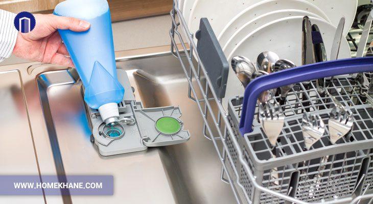 نحوه استفاده از مایع جلادهنده ماشین ظرفشویی