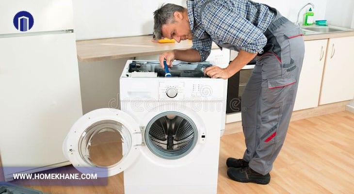 نحوه تعمیر تایمر ماشین لباسشویی