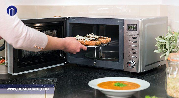 نحوه پخت مواد غذایی مختلف در مایکروفر